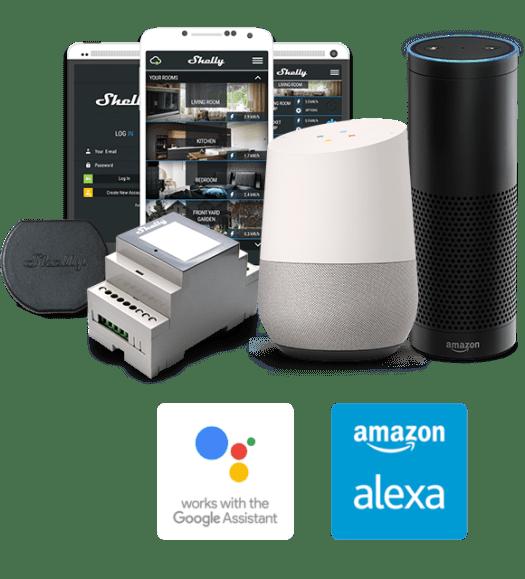 Shelly Compatibility Google-Alexa